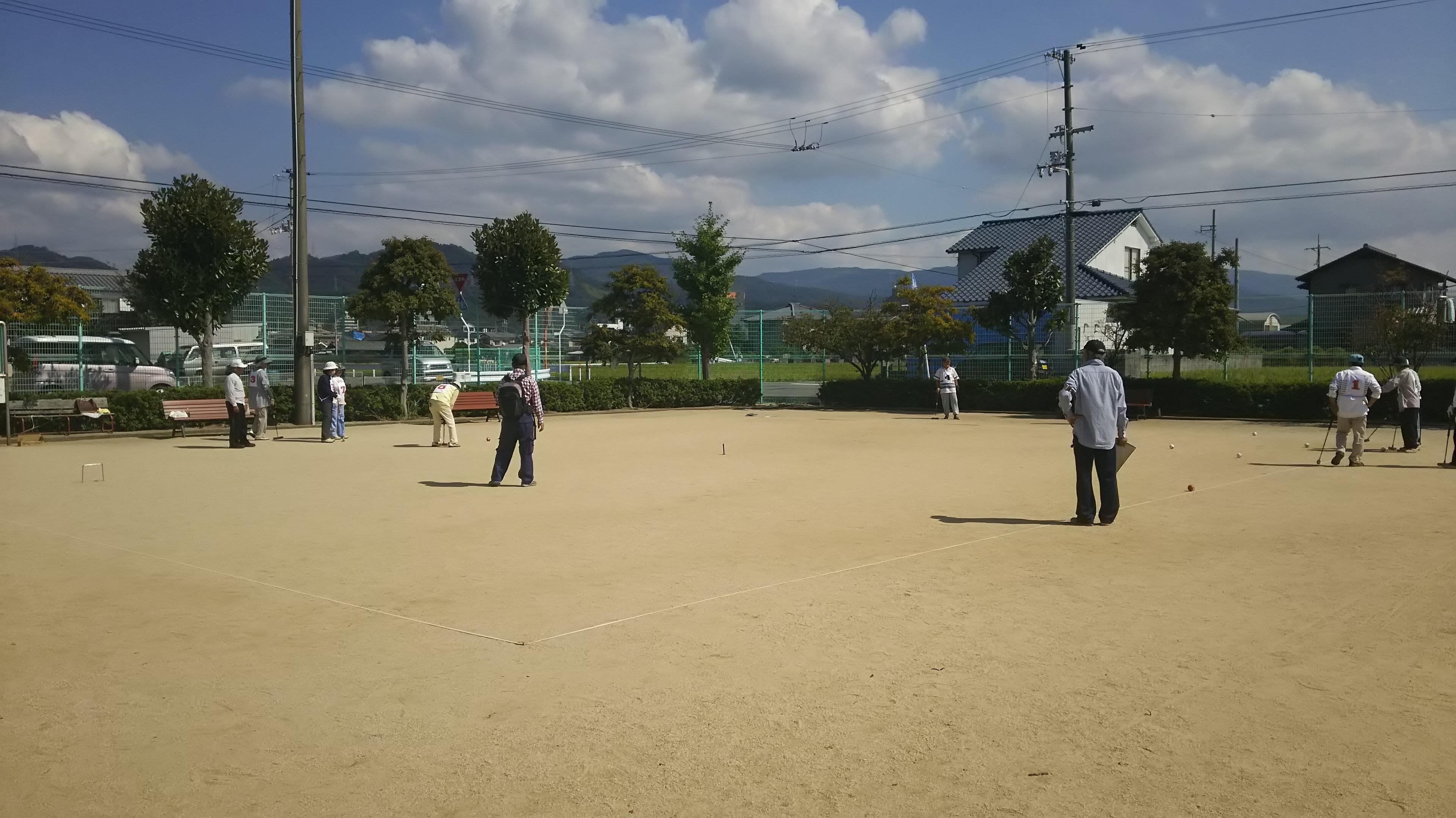 ☆ゲートボール大会☆