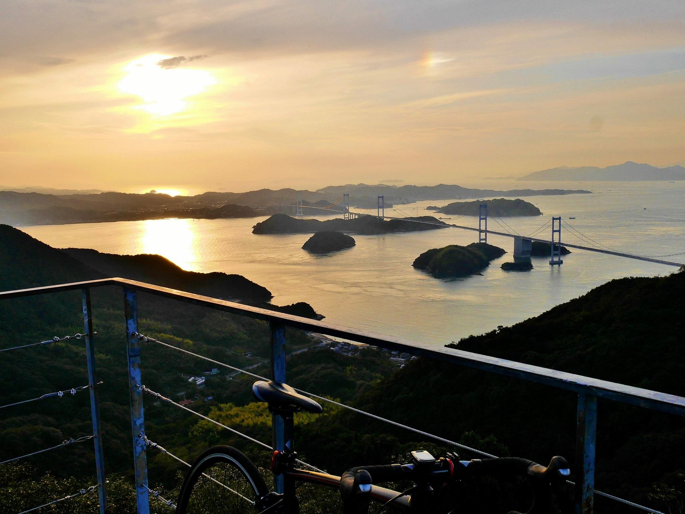 大三島外周からの亀老山展望台