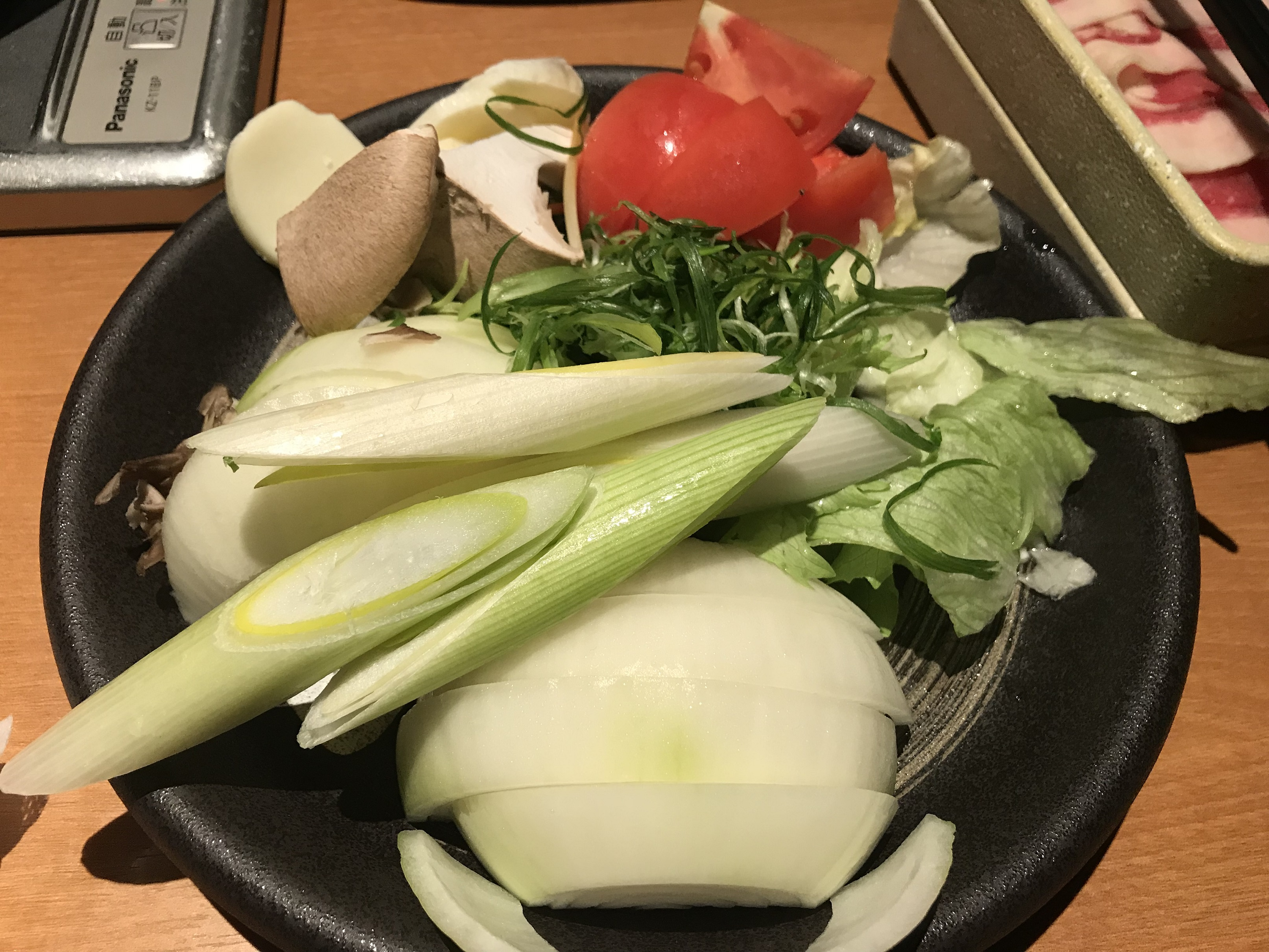 鍋でポカポカ(*´v`*)